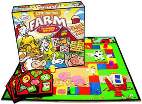 Preschool Version of Life on the Farm Board Game